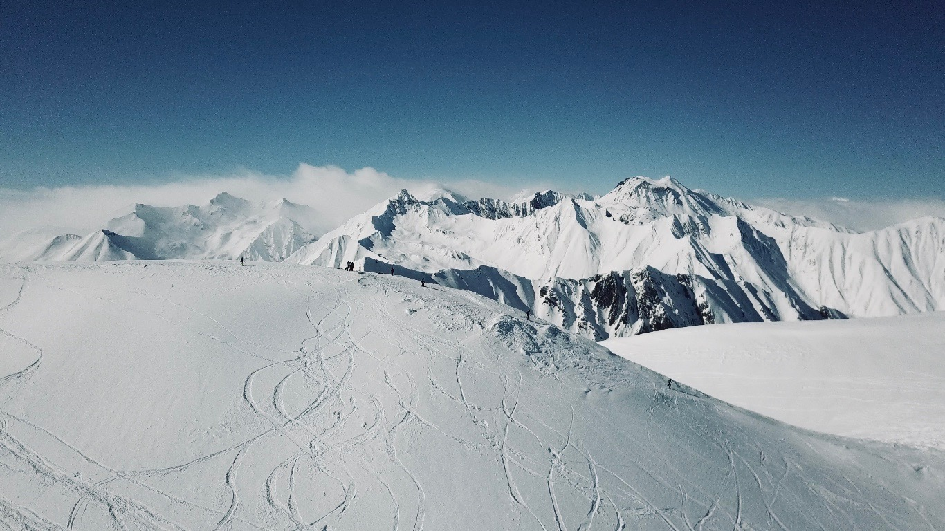 Гудаури горы красота