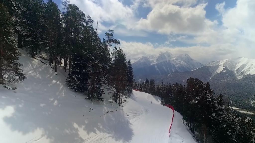 Архыз горнолыжный курорт, горы
