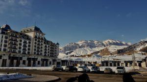 Шахдаг гостиница и горы