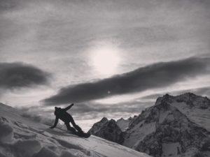 Домбай сноуборд