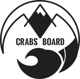 Сноуборд и горные лыжи вместе с Crabs-board